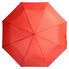 <b>Зонт</b> складной <b>Unit Basic</b>, красный (артикул 5527.50) - Проект 111