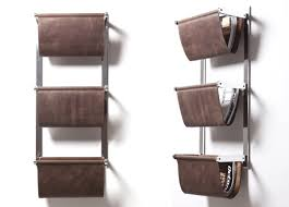 magazine rack wall mount: wall magazine rack by terence williams