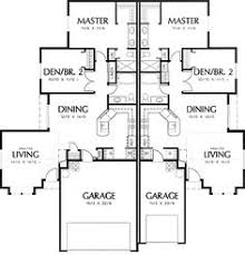 Plan GW  Welcoming Living Room Design   House plans  Home    Plan W AM  Narrow Lot  Multi Family House Plans  amp  Home Designs