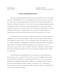 essay on community community service project essay