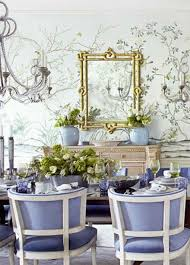 spring dining chair romantic dining area with tree wallpaper purple chair and sleek dining