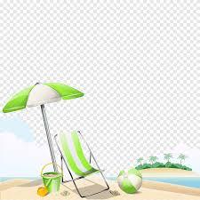 зеленый <b>зонт</b> и раскладное кресло, Beach <b>Summer</b>, справочные ...