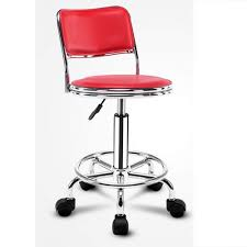 Red Adjustable Bar Stool, Rs <b>2750 /pcs</b>, Vijay Trading Company   ID ...