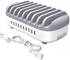 <b>ORICO</b> Multiple Charging Station 120W <b>10</b> Port USB Charger Hub ...