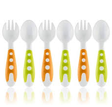 Toddler Utensils Baby Fork and Spoon Set - Baby ... - Amazon.com