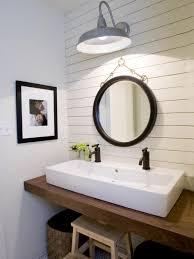 funky bathroom lights: barn inspired accents rms dwanderson modern farmhouse bathroom sxjpgrendhgtvcom