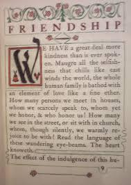 essay friendship     lydell