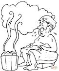 Раскраска о бане