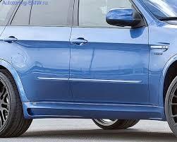 <b>Пороги боковые для</b> BMW X5M E70, Hamann Motorsport — Купить ...
