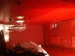 room paint red:  bedroom red painted rooms amazing