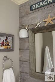 beach bathroom decorations