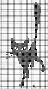 <b>Магия</b> вязания | <b>Вышивка</b>, Узоры, Кошки