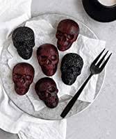 Palksky 3D Skeleton Skull Silicone Fondant Mold ... - Amazon.com