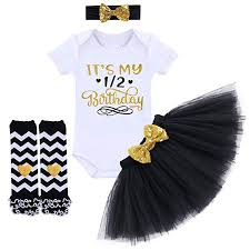 It's My 1st/2nd Birthday Outfit Baby Girl Romper Tutu ... - Amazon.com
