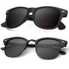 Polarized Sunglasses for Men and Women Semi ... - Amazon.com