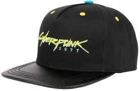 <b>Кепка</b> JINX <b>Cyberpunk 2077</b> - Logo Snapback JINX-10829 - купить ...