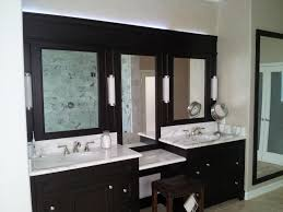 bathroom lighting ideas double astounding ideas black and white double sink bathroom vanity with interior bathroom wall bathroom bathroom furniture interior ideas mirrored wall