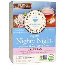 Traditional Medicinals, <b>Органический чай для питья</b> перед сном ...