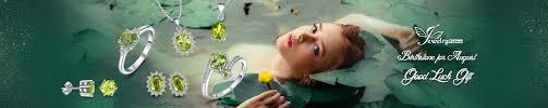JewelryPalace: Peridot - Amazon.com