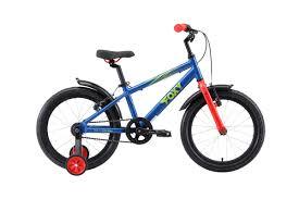 <b>Велосипед STARK Foxy 18</b> 2019 one синий/зелёный/красный