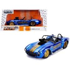 Shop 1965 Shelby Cobra 427 S/C <b>Candy Blue</b> with Gold Stripes ...