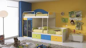 kids bedroom tribu funky kids colorful bunk bed with closet and storages for kid bedroom bedroom kids designs bunk