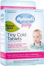 Hyland's <b>Baby Tiny Cold</b> Tablets – Enlightened Baby