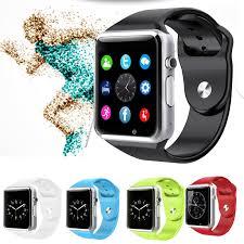 <b>T1</b> Bluetooth <b>Smart Watch</b> Wrist Watch with Camera For iPhone ...