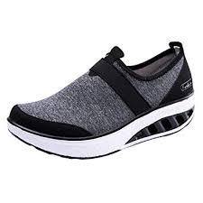 Holywin <b>Womens</b> Casual <b>Shoes</b> Increased Thick-Soled <b>Running</b> ...