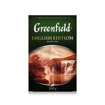 <b>Чай черный Greenfield English</b> Edition листовой 200 г купить с ...