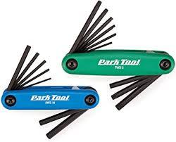 Park Tool FWS-2 <b>Fold</b>-Up <b>Hex</b> and Torx <b>Wrench</b> Combo Set