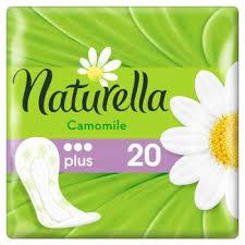Ежедневные прокладки Naturella Camomile Plus, 20 ... - ROZETKA