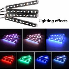 <b>4pcs</b> LED Strip <b>12V</b> USB RGB <b>Light</b> Tape PC <b>Car</b> RGB USB 12 V ...