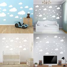 <b>Bestselling</b> 3 Colors Wall Decor Stickers Cloud <b>Wall Stickers</b> ...