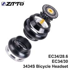 <b>ZTTO</b> 3434S <b>MTB</b> Bike Road Bicycle Headset 34mm EC34 CNC 1 1 ...