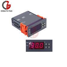 2019 AC 110V 220V <b>10A</b> LED <b>Digital Thermostat</b> Regulator ...