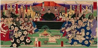 「日本の天下統一を果たした天下人秀吉は大明帝国の征服を目指し、配下の西国の諸大名を糾合して遠征軍を立ち上げた。」の画像検索結果