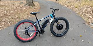 DIY ebike: 1kW <b>Fat Tire</b> AWD snow bike for $700 + 4 hours of work ...
