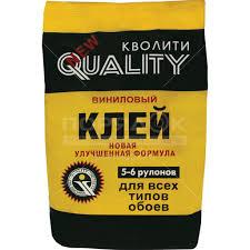 <b>Клей</b> для виниловых <b>обоев Quality</b> пакет, 200 г в Москве: отзывы ...