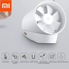 <b>Original Xiaomi VH Mini</b> Fan Portable USB Fan Ultra Quiet Smart ...