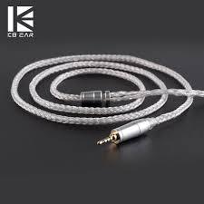 <b>KBEAR</b> 16 Core Upgraded Silver Plated Balanced <b>Cable</b> 2.5/3.5/4.4 ...
