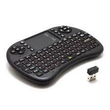2 4GHz <b>UKB 500 RF</b> Mini Wireless Keyboard Mouse Touchpad ...