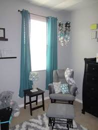 baby nursery grey chevron and teal or turquoise boys room with black furniture paper circle baby boy furniture nursery