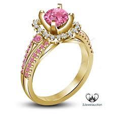 <b>2 Pc</b> Princess Cut Simulated Diamond Engagement Ring In Yellow ...