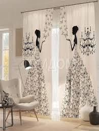 <b>Комплект фотоштор</b> Арлет (com imagens) | Decoração de cortinas ...