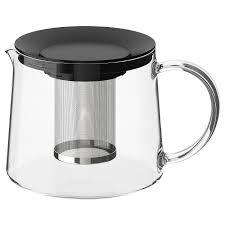РИКЛИГ <b>Чайник заварочный</b>, стекло, Высота: 13 см, Объем: 1.5 л ...