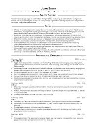 Accounting Resume Summary | Resume For Your Job Application