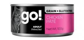<b>GO</b>! <b>Natural Holistic</b> Grain Free Chicken Pate Cat, <b>консервы</b> ...