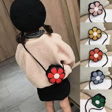 Baby Girl Mini <b>Messenger Bag Cute Floral</b> Small Coin Purses ...
