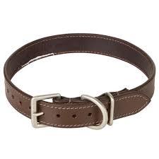 <b>Кожаный ошейник</b> для <b>собаки</b> 500 SOLOGNAC - купить в ...